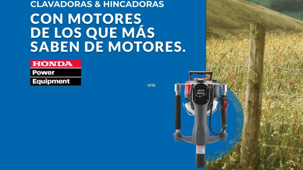 Instala fácilmente postes y vallas con nuestras Hincadoras motorizadas.